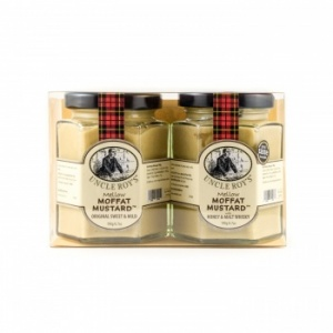 Duo of Moffat Original & Honey with Whisky Mustards