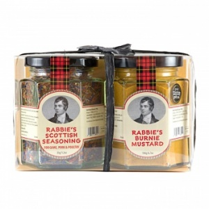 Duo of Rabbie's Burnie Mustard & Scottish Seasoning
