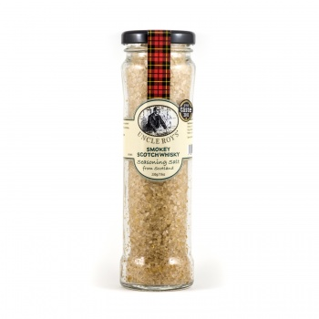 Smokey Scotch Whisky Salt
