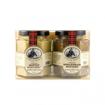 Duo of Original Moffat & Galloway Stout Mustards