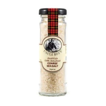 Oak Smoked Coarse Sea Salt