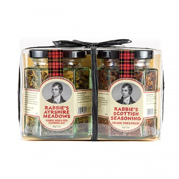 Duo of Rabbie's Ayrshire Meadows & Scottish Seasoning