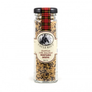 Oak Smoked Mustard Seeds