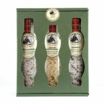 Trio of Heather, Seaweed & Whisky Salts